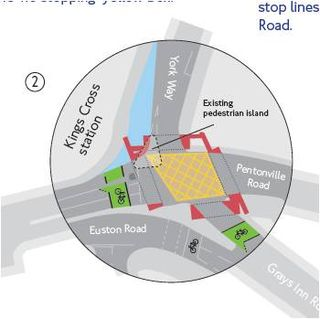 Kx york way junction tfl proposal