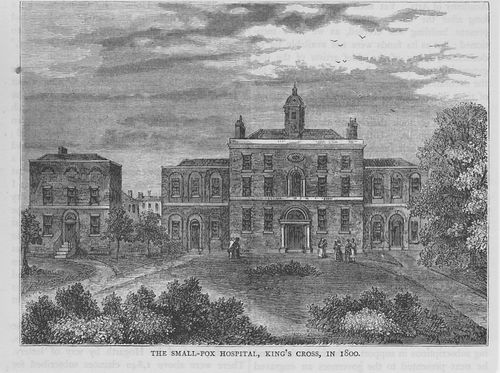 Kings cross small pox hospital
